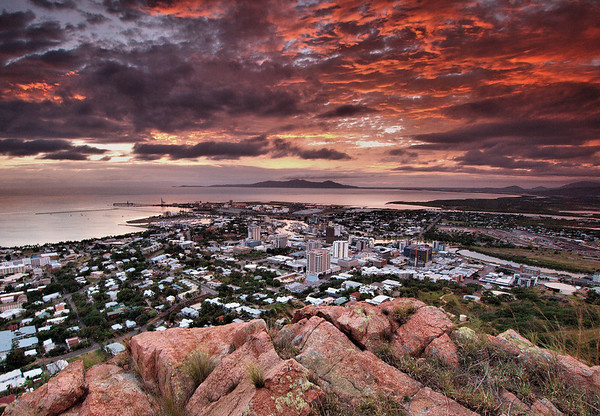 Sunrise over Townsville